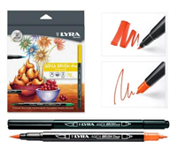 MARKER SET LYRA AQUA BRUSH DUO SET/12 LY6521120