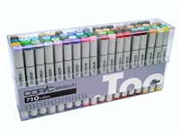 COPIC SKETCH MARKER SET - 72PC SET B CMS72B