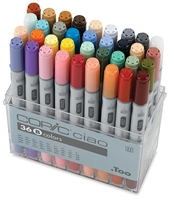 CIAO COPIC MARKER SET - 36PC SET B CMI36B