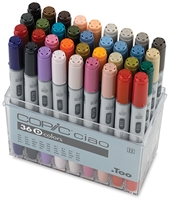 CIAO COPIC MARKER SET - 36PC SET D CMI36D