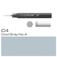 COPIC INK 12ML C4 COOL GRAY 4 - CMIN-C4