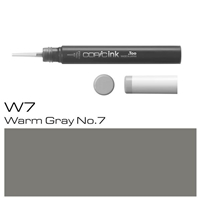 COPIC INK 12ML W7 WARM GRAY 7 - CMIN-W7
