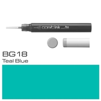 COPIC COPIC INK 12ML BG18 TEAL BLUE - CMIN-BG18