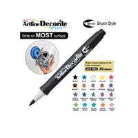 BRUSH PEN ARTLINE DECORITE BLACK 3N