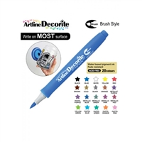 BRUSH PEN ARTLINE DECORITE BLUE 3A
