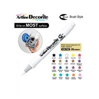 BRUSH PEN ARTLINE DECORITE WHITE 3B