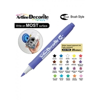 BRUSH PEN ARTLINE DECORITE PASTEL PURPLE 3M