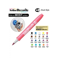 BRUSH PEN ARTLINE DECORITE METALLIC PINK 3FM
