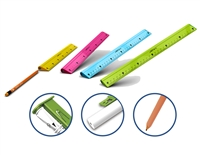 RULER Y-PLUS 4 IN ONE 30cm PLASTIC 073710