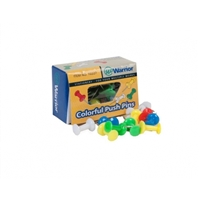 PUSH PINS 30PC VAR COLORS 227