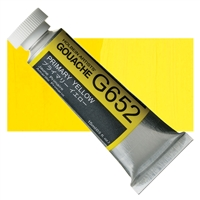GOUACHE HOLBEIN 15ML PRIMARY YELLOW HBG652