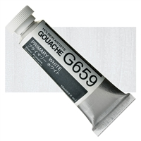 GOUACHE HOLBEIN 15ML PRIMARY WHITE HBG659