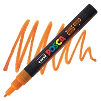 MARKER POSCA PC-3M FINE GLITTER ORANGE PX197954000