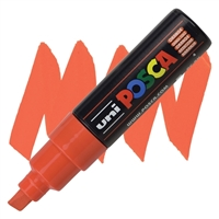 MARKER POSCA PC-8K BROAD CHISEL TIP ORANGE PX148825000
