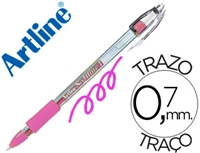 GEL PEN ARTLINE SOFTLINE 1700 FLOURESCENT PINK 1700F