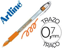 GEL PEN ARTLINE SOFTLINE 1700 FLOURESCENT ORANGE 1700NA
