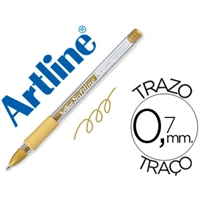 GEL PEN ARTLINE SOFTLINE 1900 GOLD 1900D