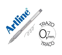 GEL PEN ARTLINE SOFTLINE 1900 SILVER 1900P