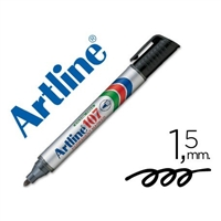 MARKER ARTLINE 107 BLACK PERMANENT 107N