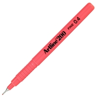 ARTLINE 200 FINE TIP PEN 0.4MM PINK 200F