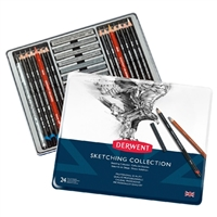 SKETCHING COLLECTION SET DERWENT - 24PC DE34306