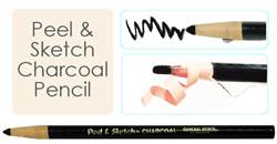 CHARCOAL PENCIL PEEL & SKETCH GP5633TS