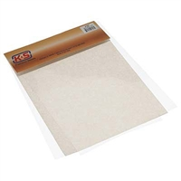 PLASTIC SHEET 8.5X11INCHES .015 THICK 3PK KS1308