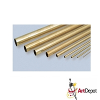 METAL BRASS RND TB 1-8 X12 INCHES KS8127
