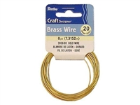 WIRE 20 GAUGE GOLD 8YD DZ3958-80
