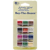 WIRE ARTISTIC 22G 12 COLOR SET BEAWP-22-BTD