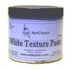 WHITE TEXTURE PASTE ART DEPOT 16ONZ 68832
