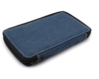 CANVAS PENCIL CASE - DENIM 24 CT GL254240