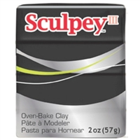 SCULPEY CLAY BLACK 2 OZ SY042