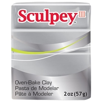 SCULPEY CLAY SILVER 2 OZ SY3021130