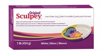 SCULPEY ORIGINAL 1LB PACK WHITE SYS01