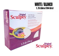 SCULPEY ORIGINAL 1.5 LB PACK WHITE SY/2