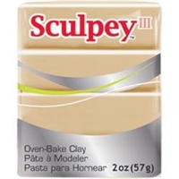 SCULPEY CLAY III TAN 2 OZ SY301