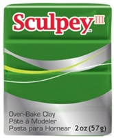 SCULPEY CLAY LEAF GREEN 2OZ SY322