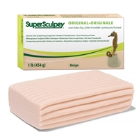SUPER SCULPEY 1 LB PACK BEIGE SYSS/1