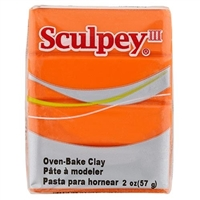 SCULPEY CLAY JUST ORANGE 2 OZ SY1634