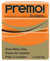 PREMO 2OZ ORANGE - SCULPEY CLAY SYP5033