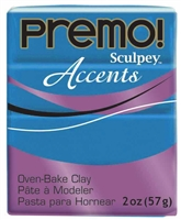 PREMO 2OZ PEACOCK PEARL - SCULPEY CLAY SYP5038