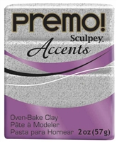 PREMO 2OZ GRAY GRANITE - SCULPEY CLAY SYP5065