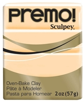 PREMO 2OZ ECRU - SCULPEY CLAY SYP5093
