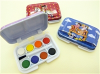 WATERCOLOR SET MINI WITH BRUSH 400079-36