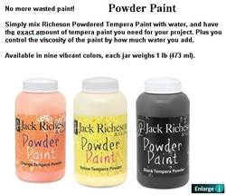 Powder Paint 1# Brown 55 101509
