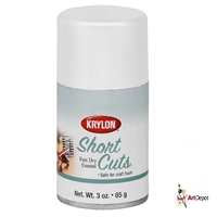 SPRAY SHORT CUTS FLAT WHT 3 OZ  KRSCS055