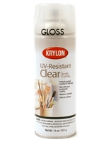 SPRAY UV RESISTENT CLEAR GLOSS 11OZ KR1305