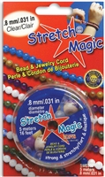 JEWELRY CORD STRETCH MAGIC 0.8MM CLEAR 5M PGSME0501