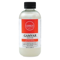 GAMVAR SATIN VARNISH 8.5 OZ GB10608